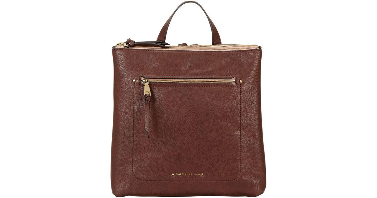 Fiorelli Brodie Backpack in Brown - Lyst