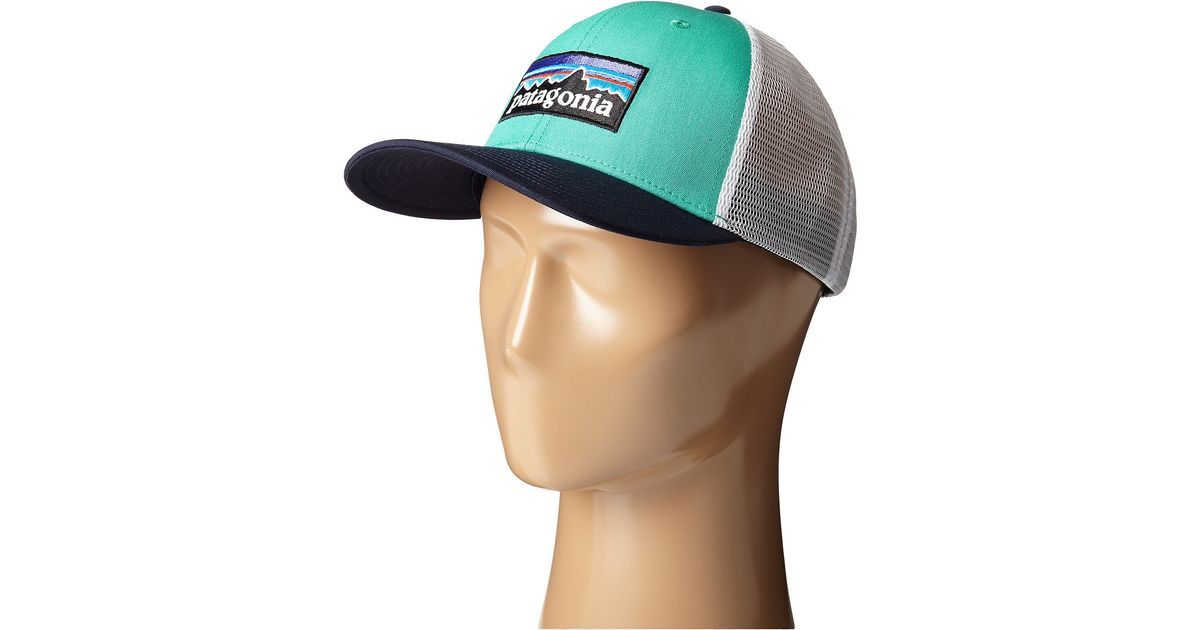 Lyst - Patagonia P6 Trucker Hat in Green 933e089cfcd