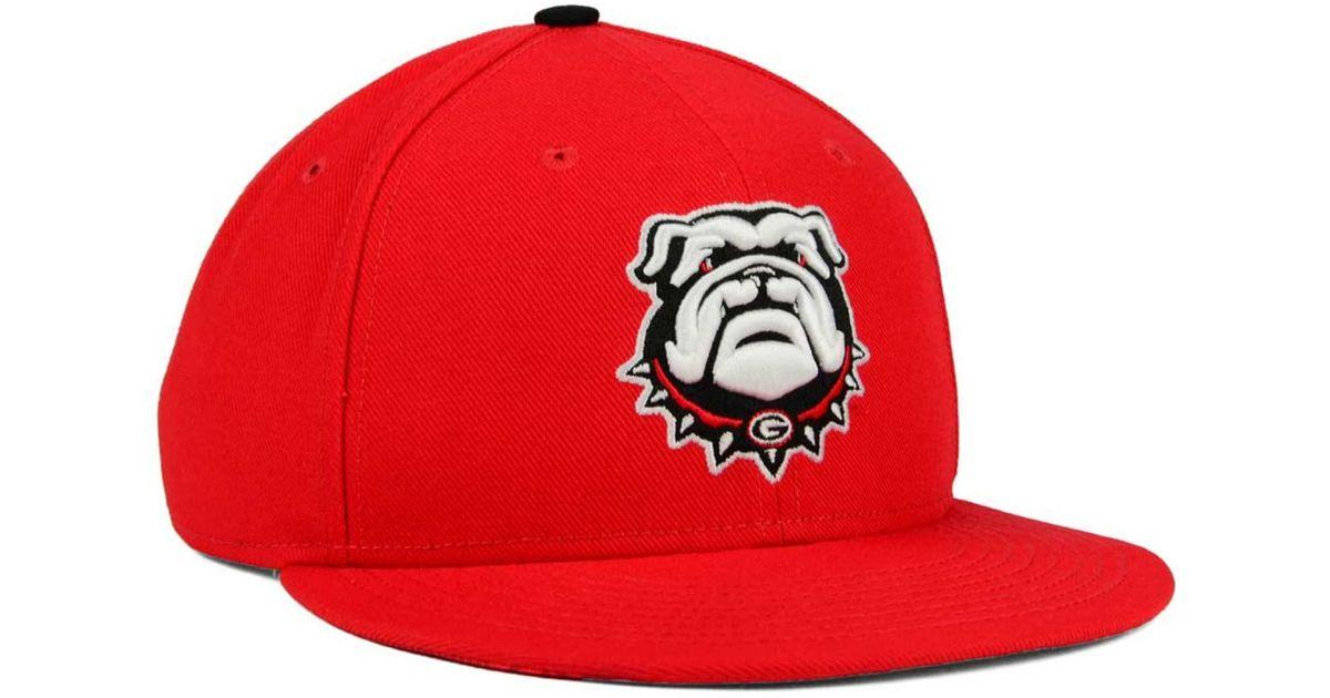 Lyst - Nike Georgia Bulldogs True Hardwood Seasonal Cap in Red for Men f2611511ad9