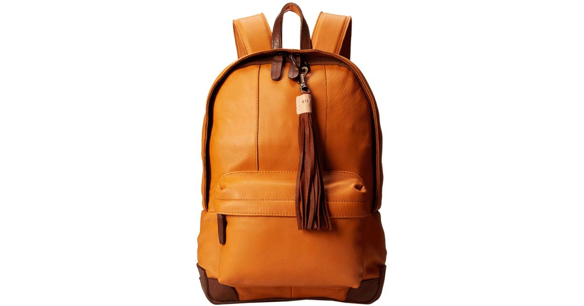 Will Leather Goods Brown Delilah Backpack