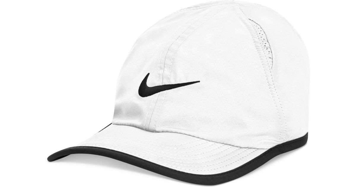 5263e6855d8 ... usa lyst nike dri fit featherlight performance hat 2.0 in white for men  ef888 534c5