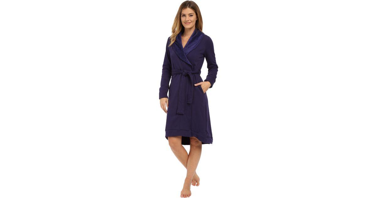 Lyst - UGG Allinda Robe in Blue 049109224