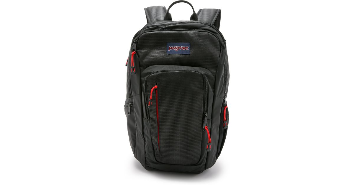 numerousinvariety online for sale crazy price Jansport Synthetic Recruit Backpack in Black for Men - Lyst