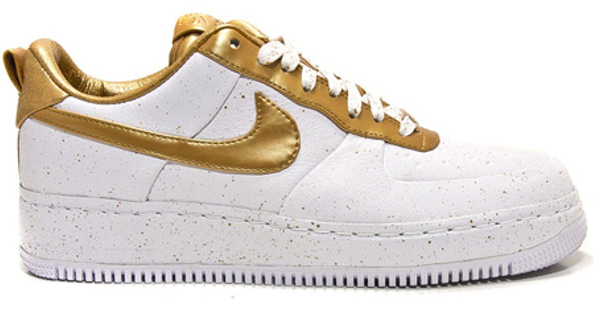 pretty nice 81985 60571 Nike Metallic Air Force 1 Low Supreme I/o Tz