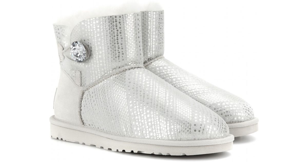Ugg Cla BlingBottes Bailey Mini Button FTKJ3ul1c5