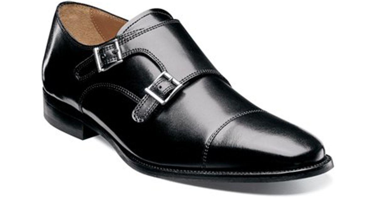 Men S Wingtip Double Monk Shoe