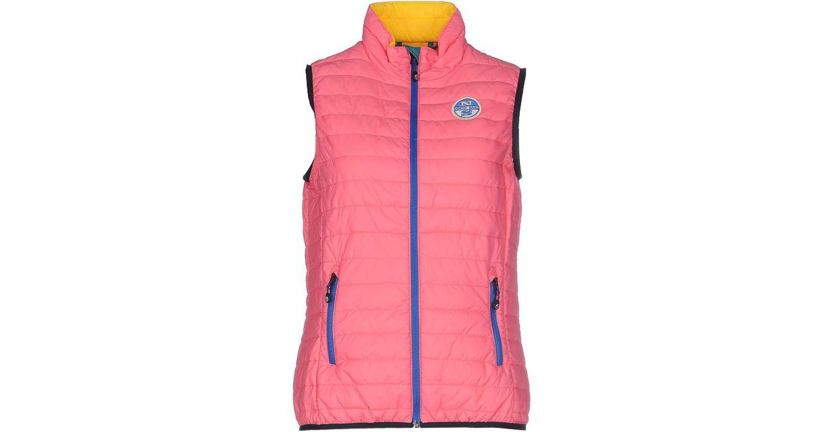 north sails jacket in pink lyst. Black Bedroom Furniture Sets. Home Design Ideas