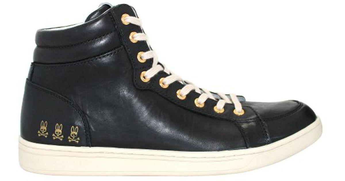 Psycho Bunny Lost Boy Leather Sneaker 4Y6N8HjB