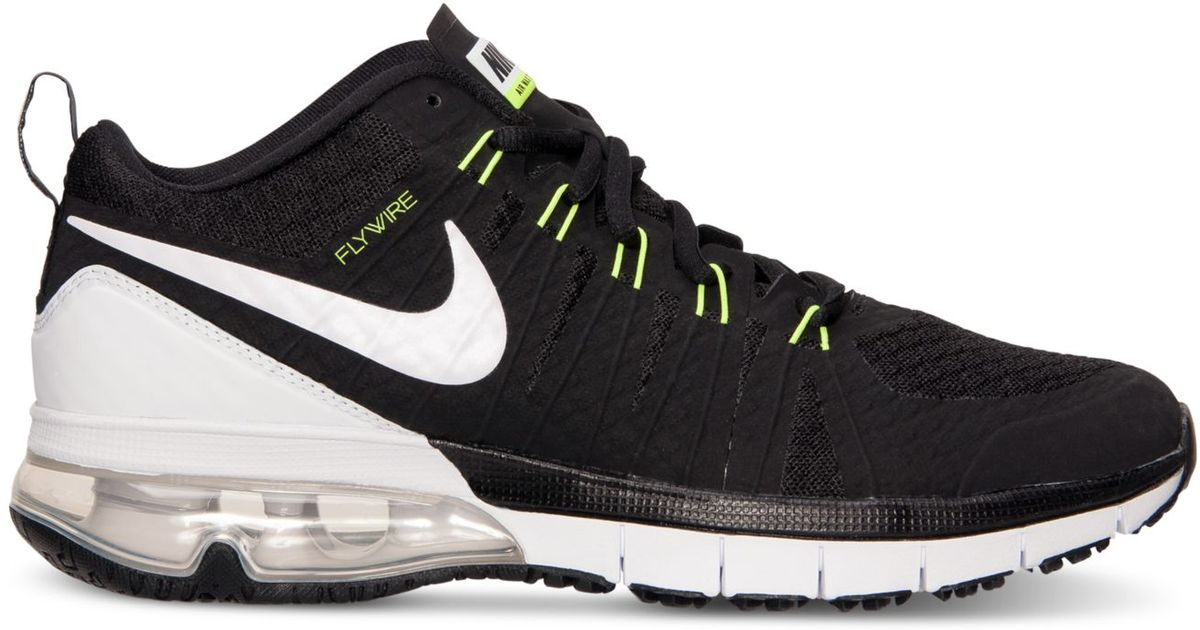 the latest d0f95 cedbc ... Nike Mens Air Max Tr180 Training Sneakers From Finish Line in Black for  Men Lyst ...