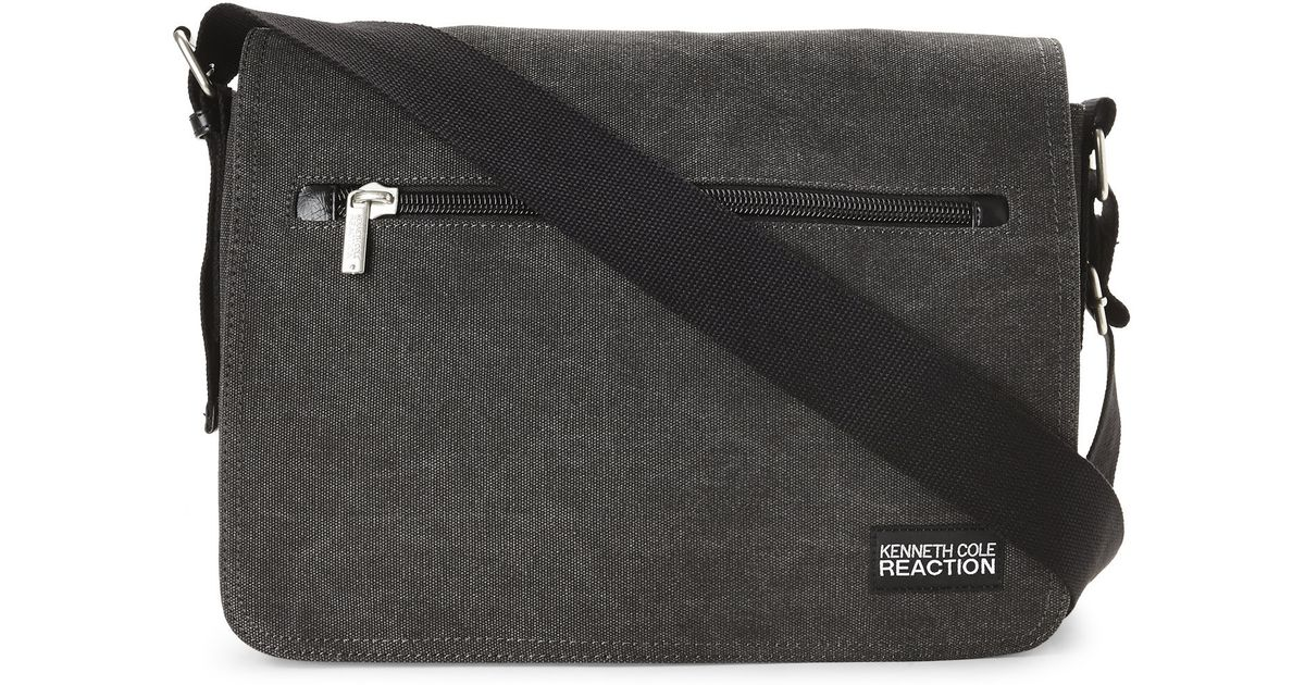 Lyst Kenneth Cole Reaction Way Down South Messenger Bag In Black For Men