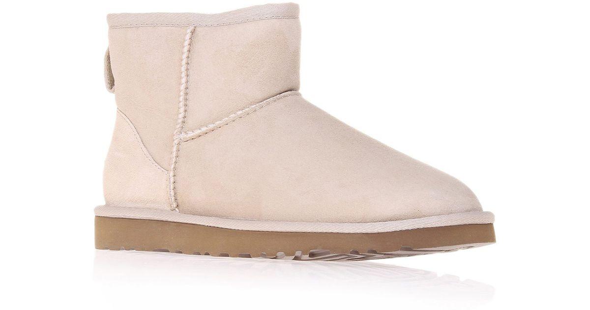 b72c6ac59dd UGG Natural Mini Sand Classic Sheepskin Boots