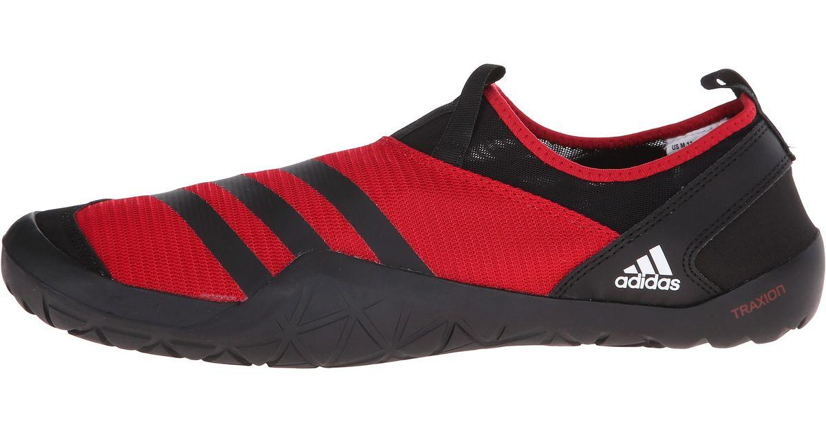 super popular 7a0a6 31bb9 Adidas Originals Red Climacool® Jawpaw Slip-on for men