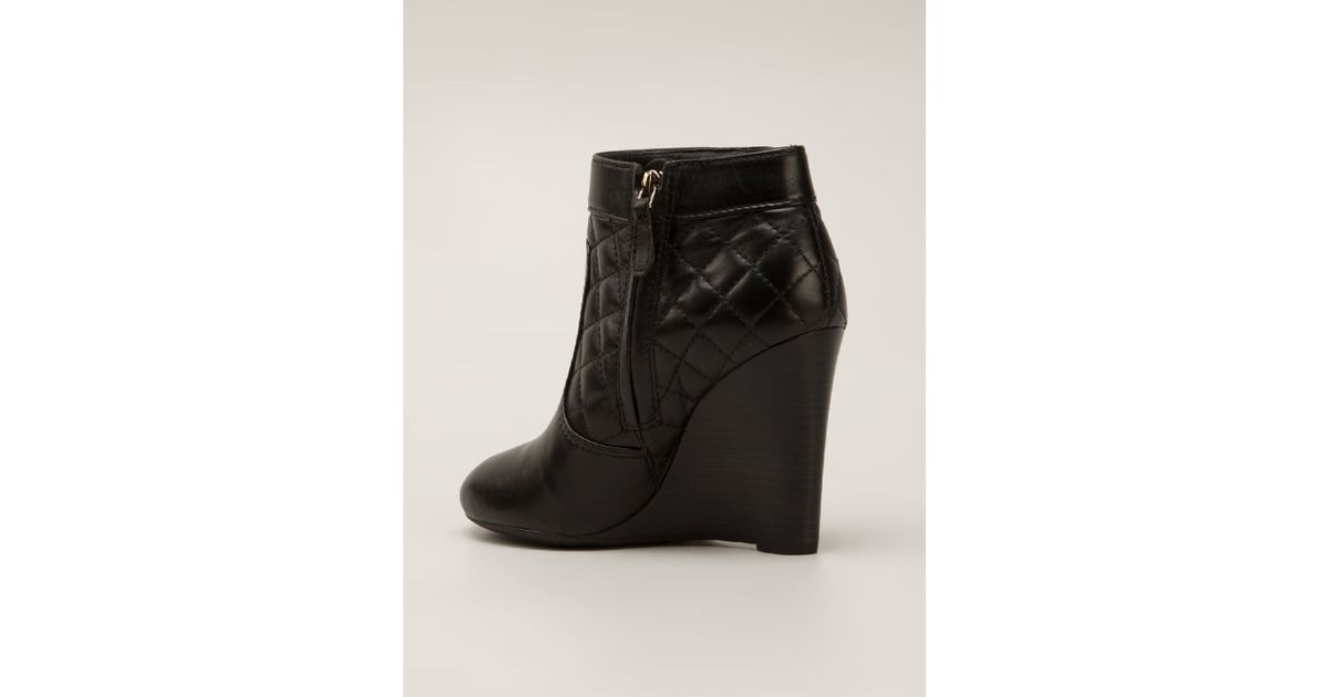 7f1fd386d2b62 Lyst - Tory Burch Leila Boots in Black