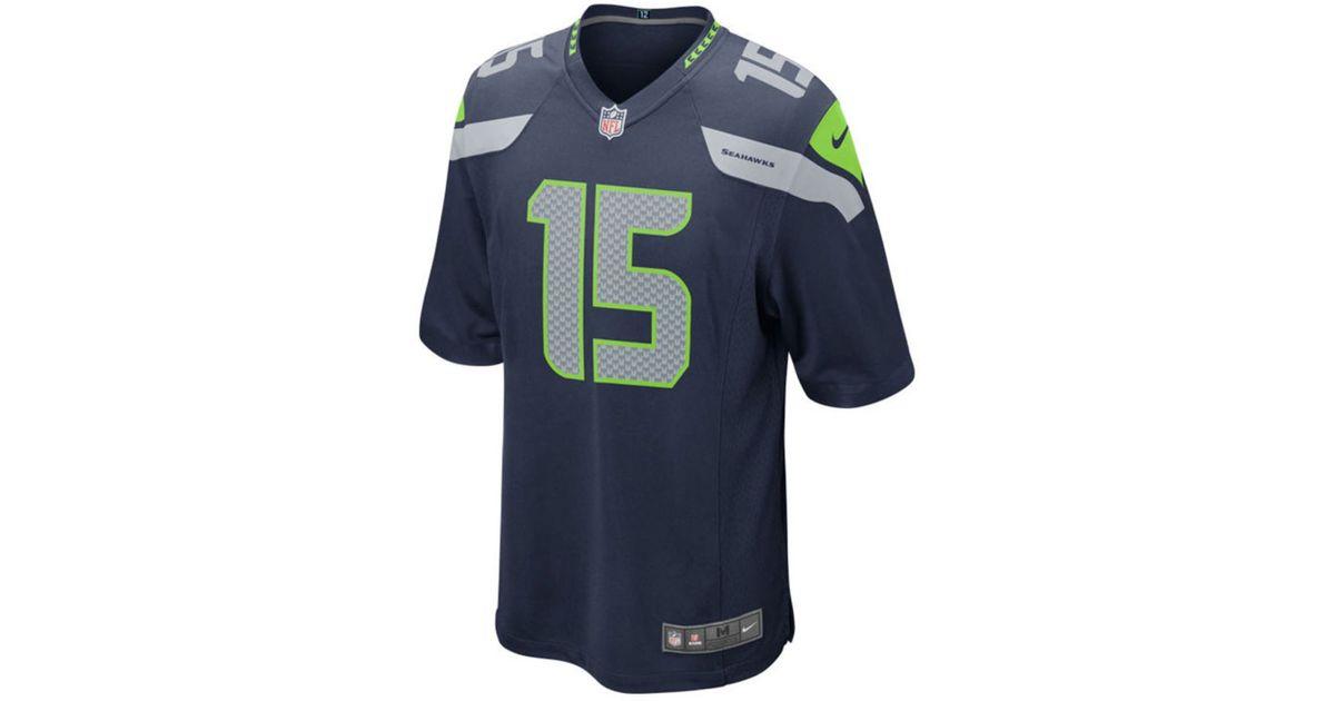 Jerseys NFL Online - Nike Boys' Jermaine Kearse Seattle Seahawks Game Jersey in Blue ...