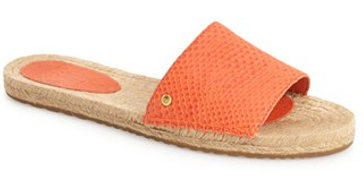 078f2b5d9c6 UGG Orange Ugg 'cherry Exotic' Slide Sandal