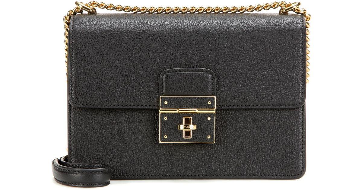 44d18b43cb Lyst - Dolce   Gabbana  rosalia  Shoulder Bag in Black