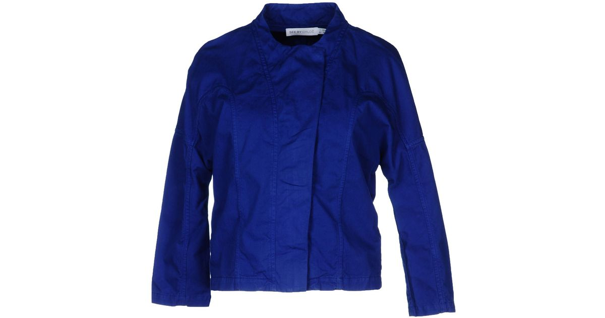 ade2bc977b See By Chloé Blue Jacket
