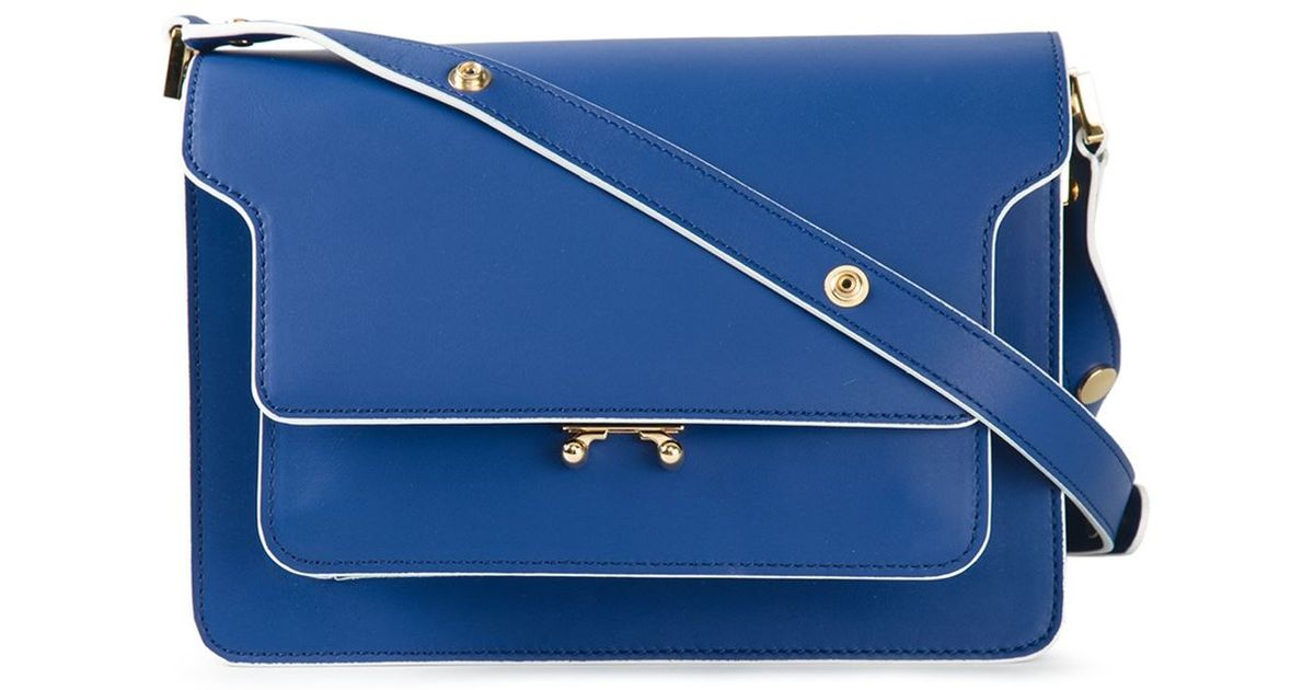 Trunk shoulder bag - Blue Marni HUseVc7mQ