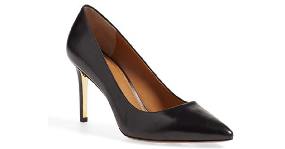 Tory Burch Elana Pointed-Toe Pumps in