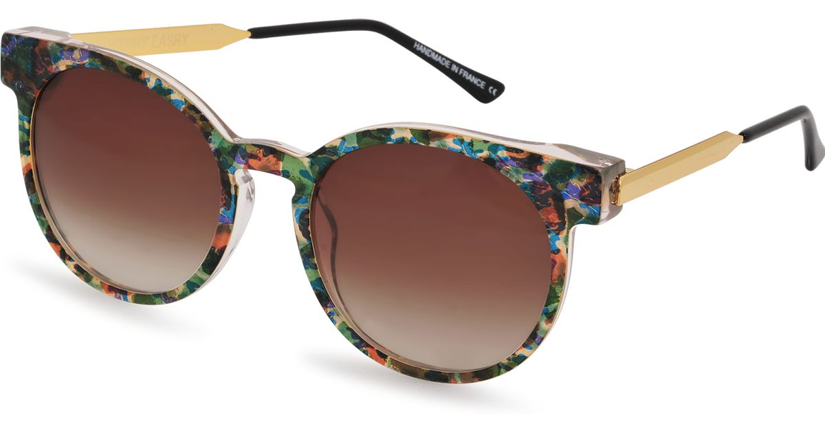 a06c3adebc Lyst - Thierry Lasry Painty V635 Sunglasses