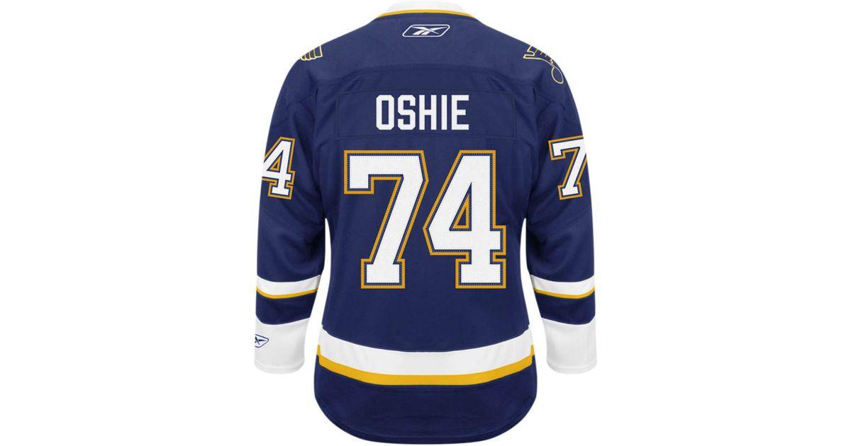 huge discount dac57 8d487 Reebok Men's Tj Oshie St. Louis Blues Premier Jersey for men