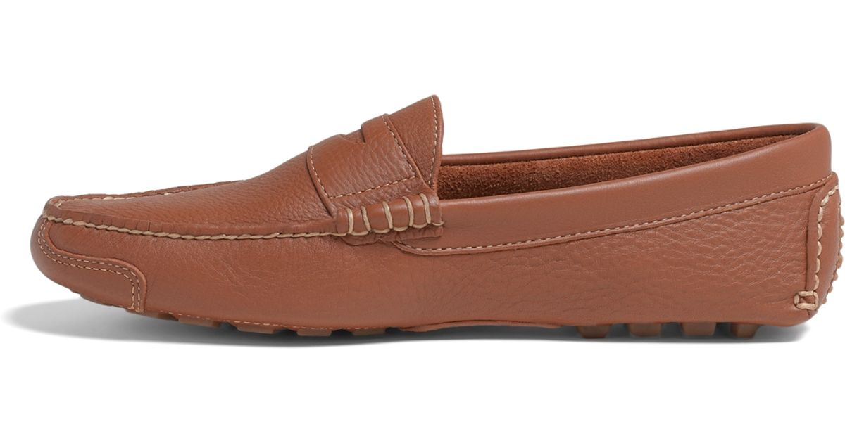 Brooks Brothers Pebble Leather Driving