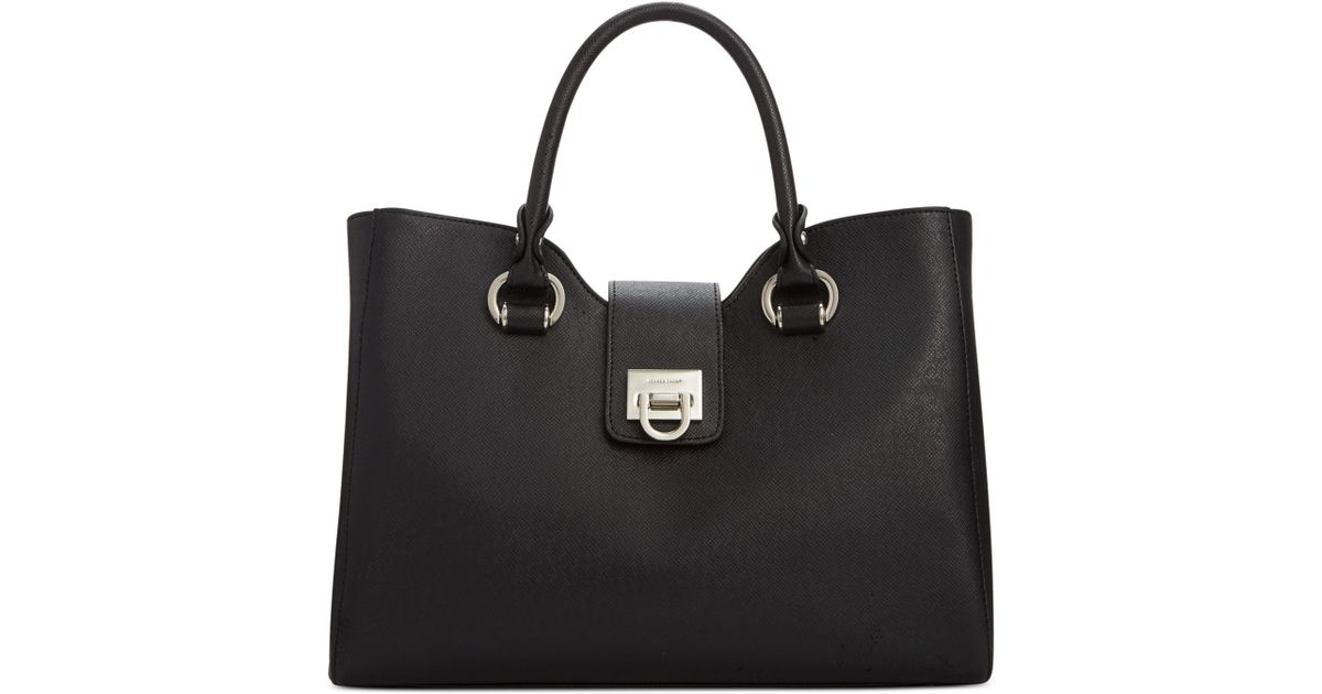 a3382bae3bed Lyst - Ivanka Trump Rebecca Satchel in Black