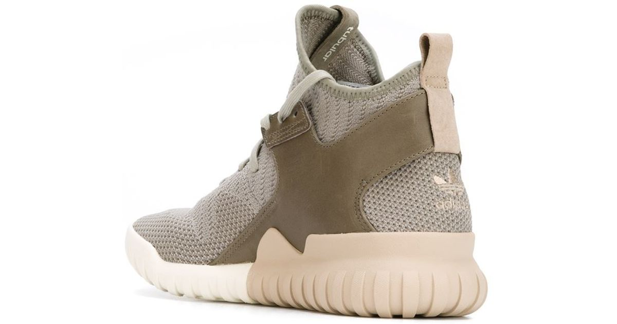 Tubular Adidas Green Lyst Originals Top Sneakers High X Knit In qEadaOz