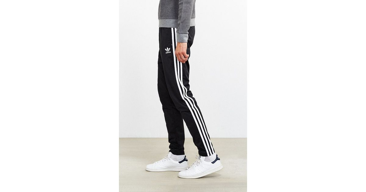 2ec90b79 Adidas Black Superstar Open Hem Track Pant for men
