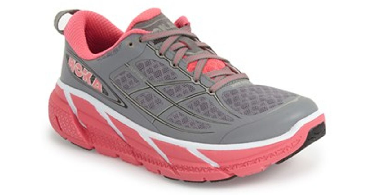 finest selection 9ccd2 f260a Hoka One One - Gray 'clifton 2' Running Shoe - Lyst