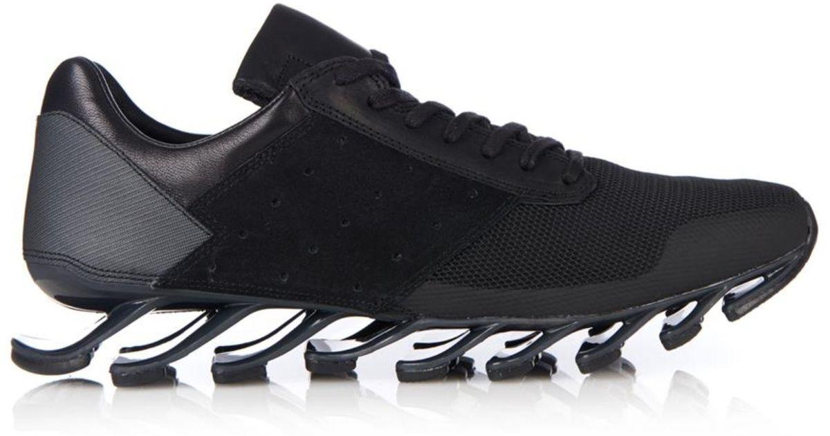 lyst rick owens x adidas springblade ausbilder in schwarz für männer