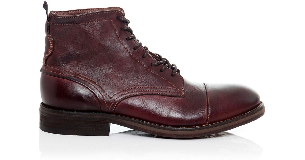 348f5f912f3 H by Hudson Brown Drum Dyed Palmer Boots for men
