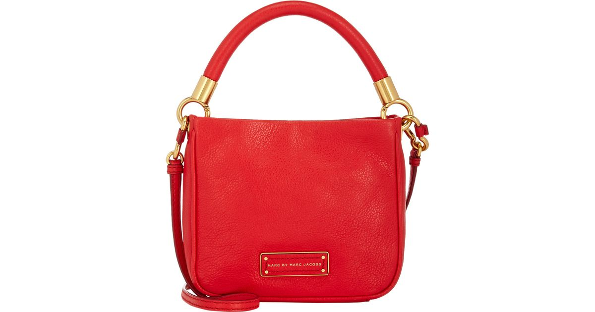 aa5e85a14b0c Lyst - Marc By Marc Jacobs Too Hot To Handle Hoctor Small Crossbody-Red in  Red