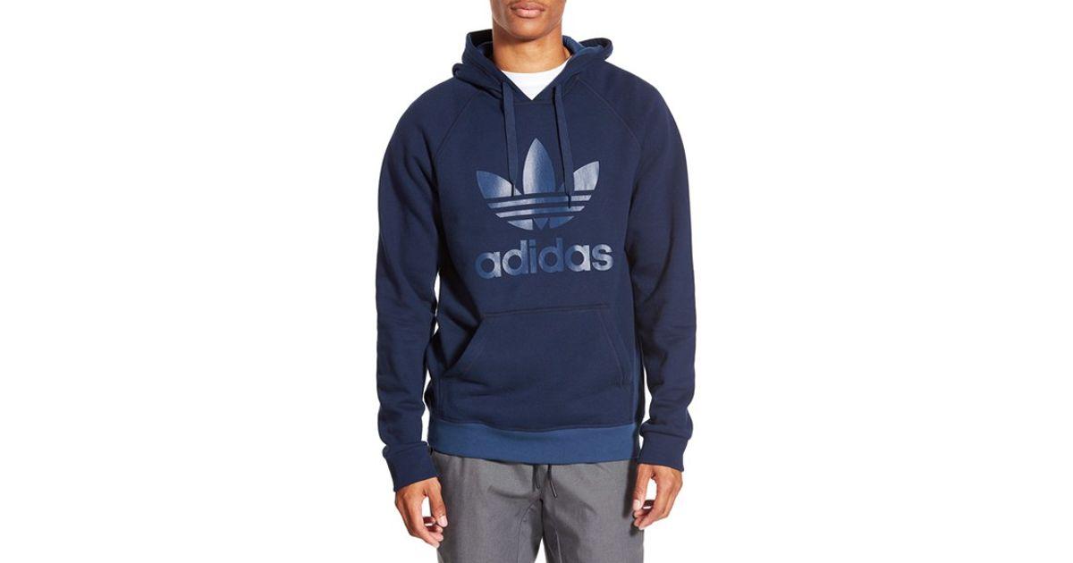 Adidas cappuccio Felpa Originals scuro blu con w6Y7AEqx
