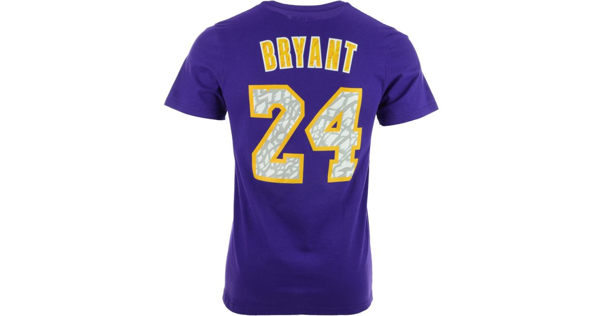 Adidas Mens Shortsleeve Kobe Bryant Los Angeles Lakers