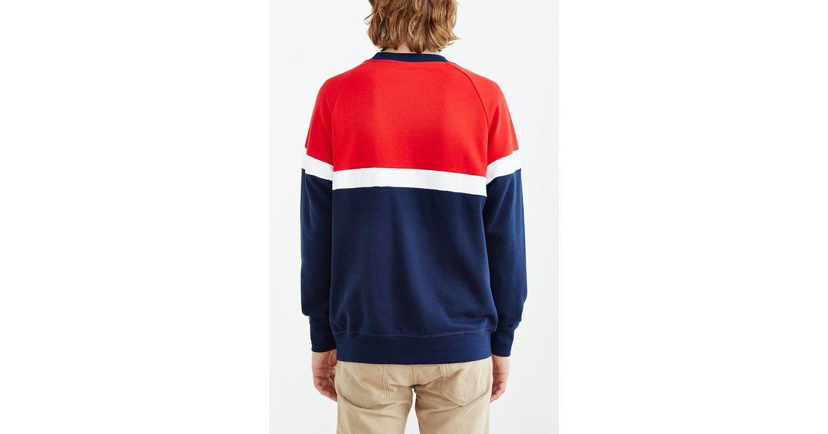 Crew Men Adidas Sweatshirt Originals Itasca Blue For Neck 8nwN0m