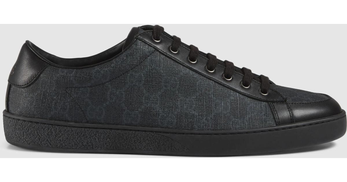 ae54a3e41c Gucci Black Gg Supreme Sneaker for men