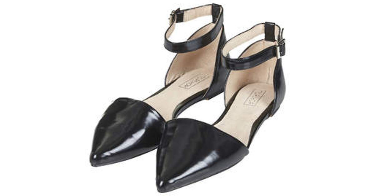 Topshop Two Part ointed Shoes HOdFWp7