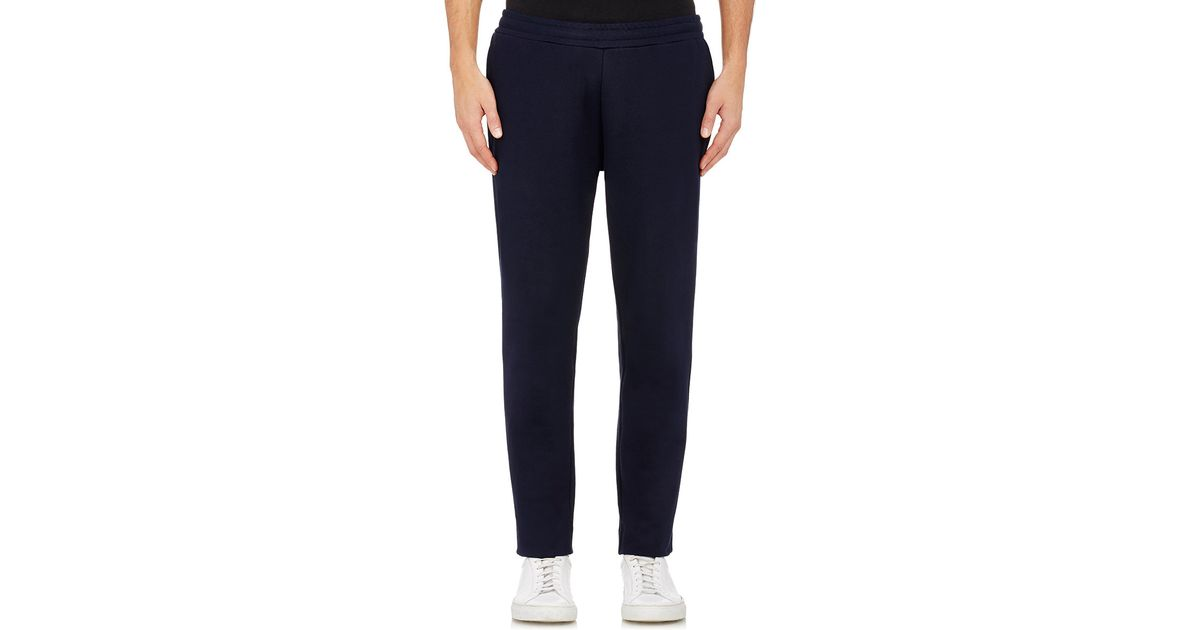 moncler french terry track pants