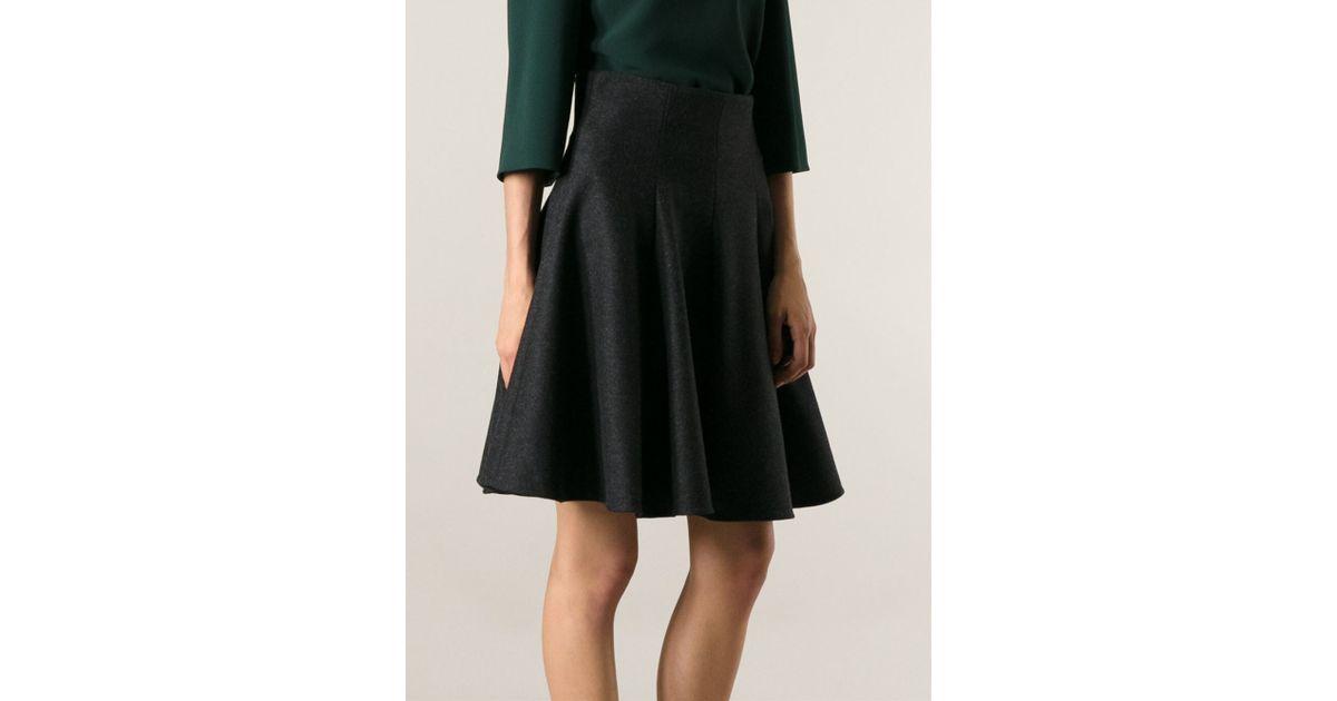 Dolce & gabbana A-line Skirt in Gray | Lyst