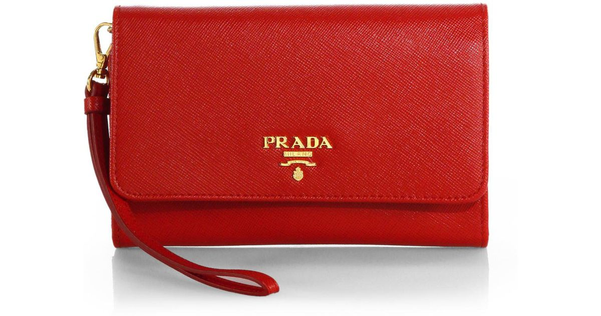 Prada Wallet With Strap