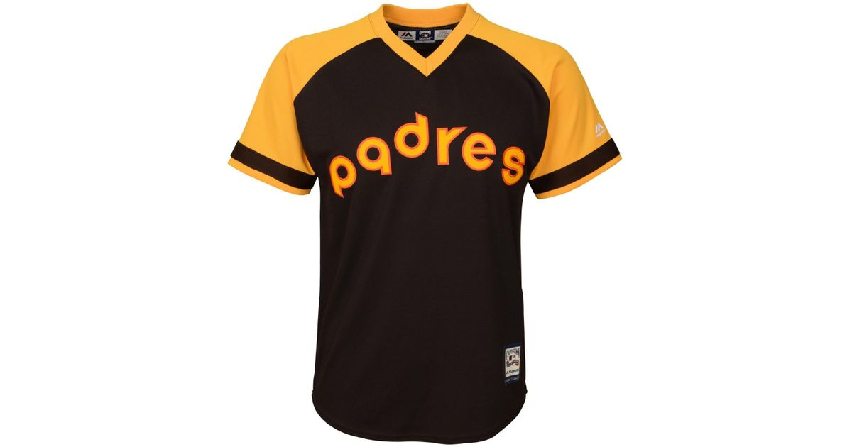 reputable site a4e48 10c29 Majestic - Brown Kids' Tony Gwynn San Diego Padres Cooperstown Jersey - Lyst