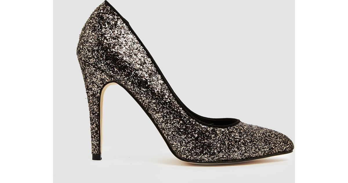 Miss Kg Carrie Gold And Black Glitter