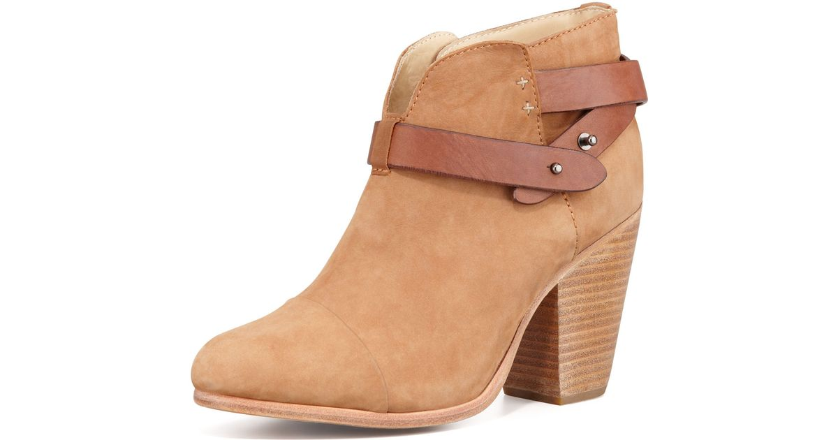 59fbb7511ed2f Rag & Bone Natural Harrow Nubuck Ankle Boot Camel