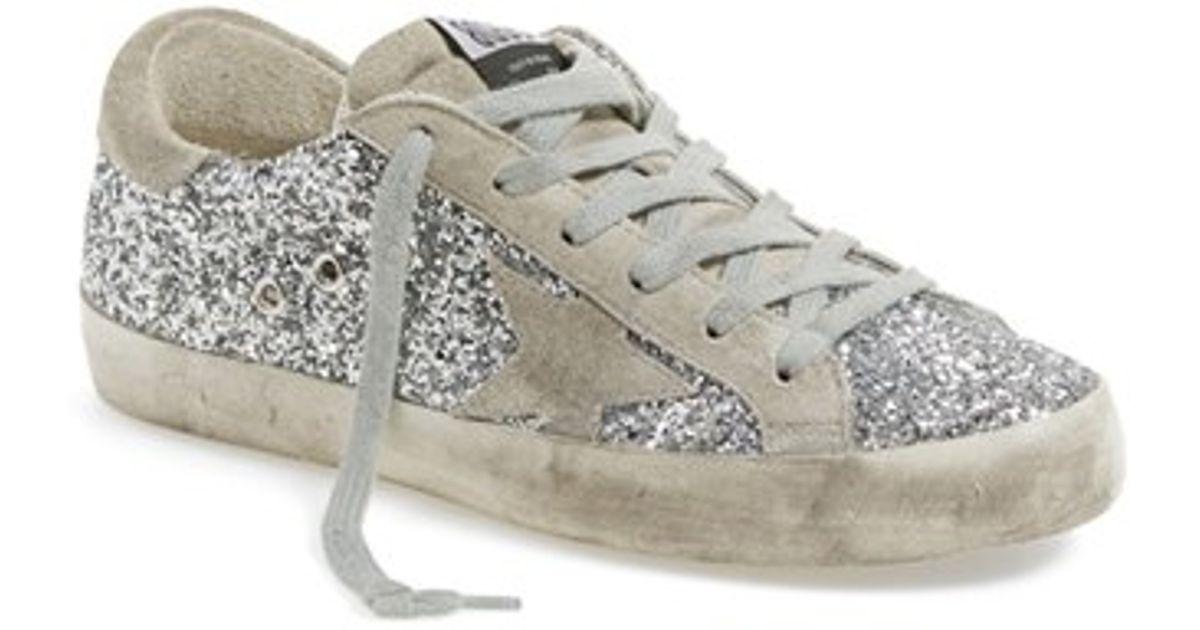 Glittered Superstar sneaker Golden Goose KvbGWcX