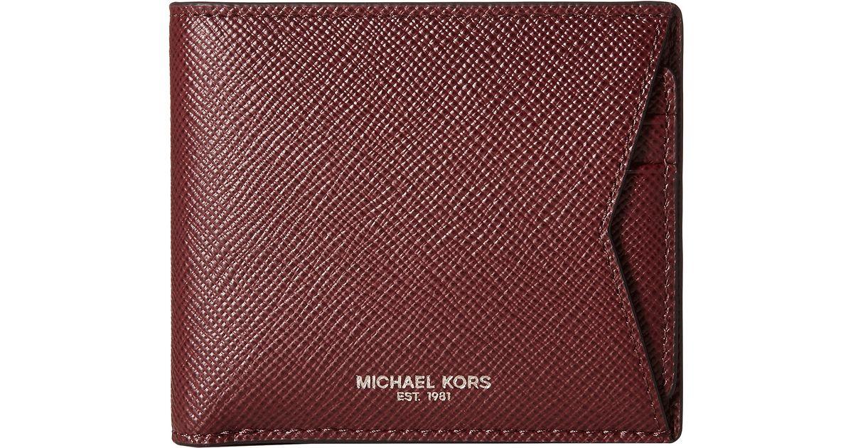 291fceccd798 Lyst - Michael Kors Box Sets Cross Grain Leather 3-in-1 Set in Purple for  Men