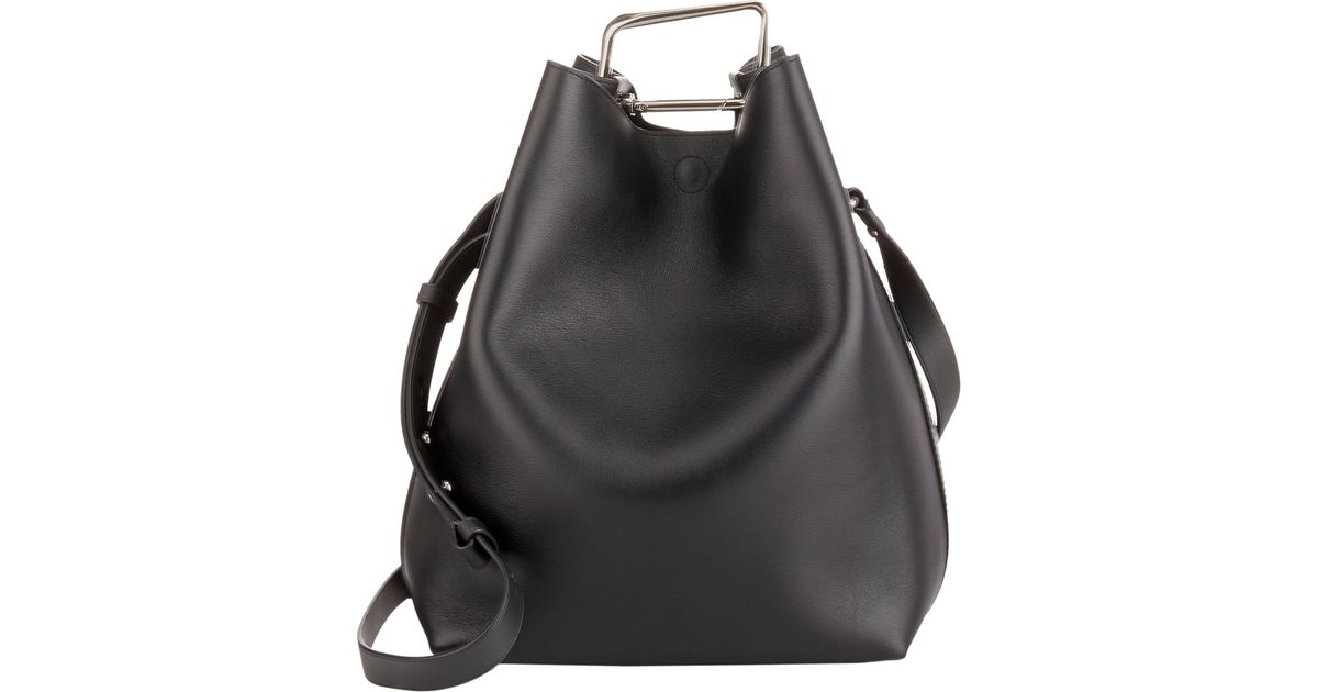 2fea558a5799 Lyst - 3.1 Phillip Lim Quill Bucket Bag in Black
