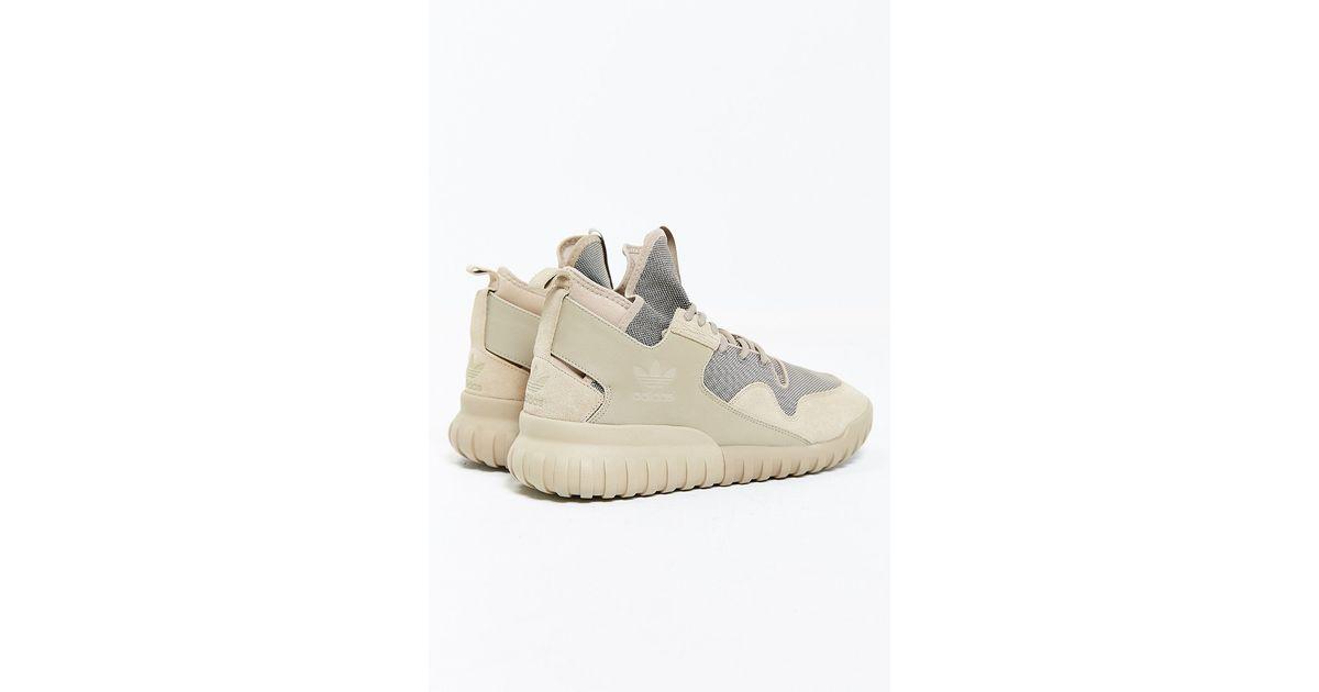 eea82409897c ... get lyst adidas originals tubular x sneaker in brown 40c7d 3d6c3