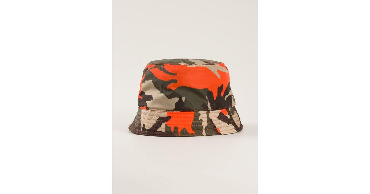 c31f3b1ba DSquared² Green Bucket Hat for men