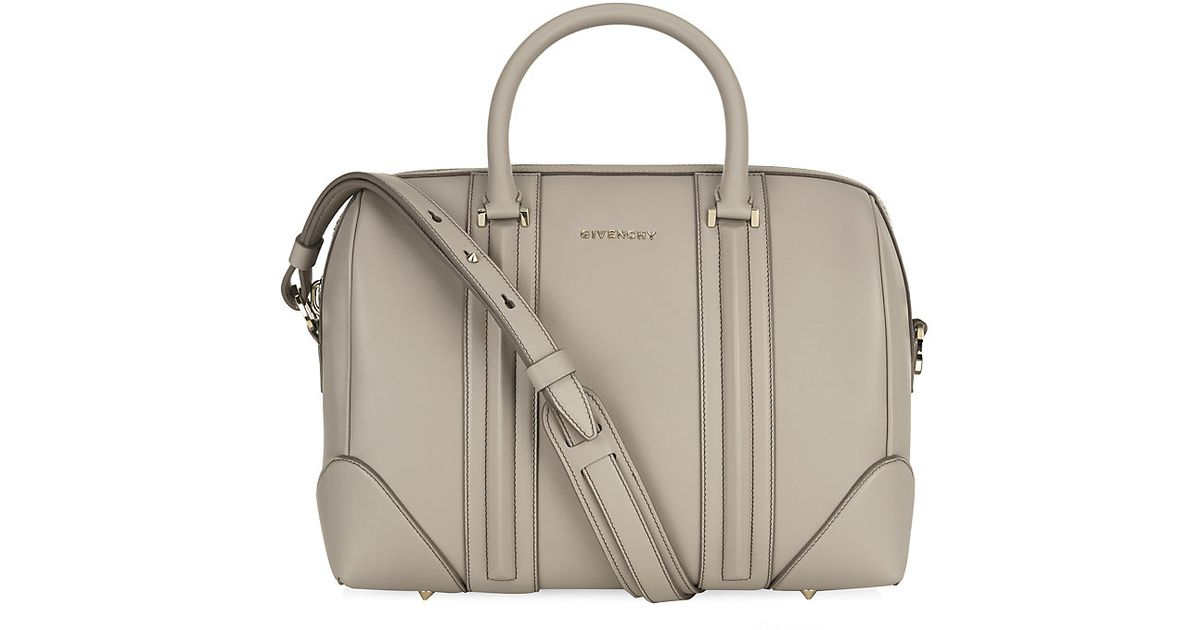 5d64634189 Givenchy Medium Lucrezia Bowling Bag in Gray - Lyst